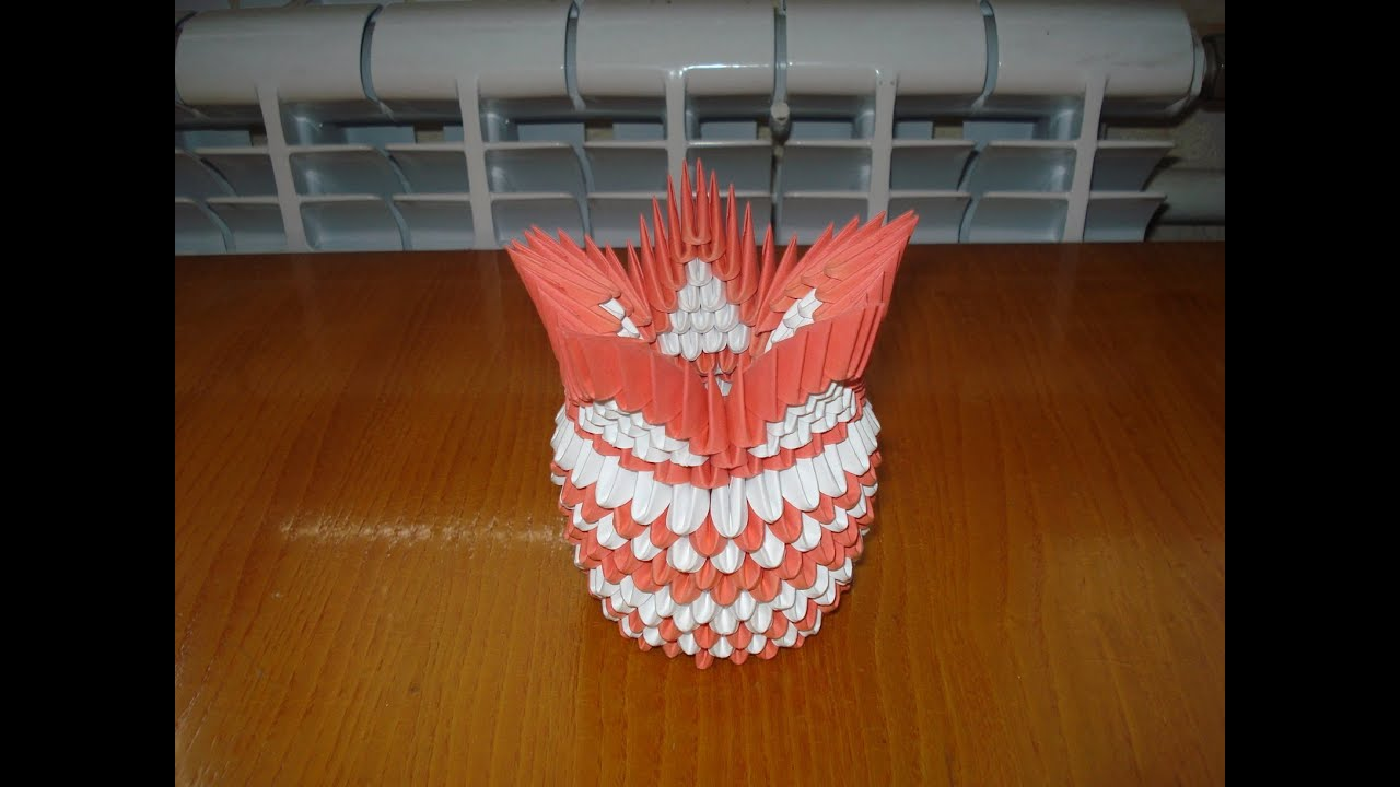 3D Origami Vase Tutorial #4 - YouTube - photo#2