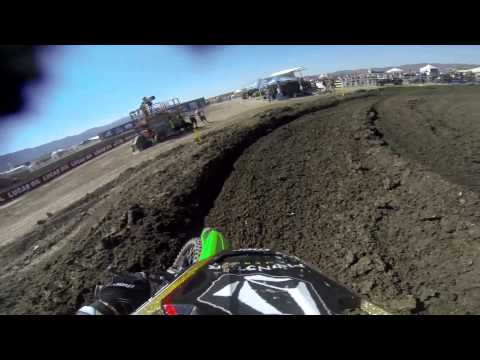 GoPro HD: Ryan Villopoto Moto 2 - Lake Elsinore MX Lucas Oil Pro Motocross Championship 2013