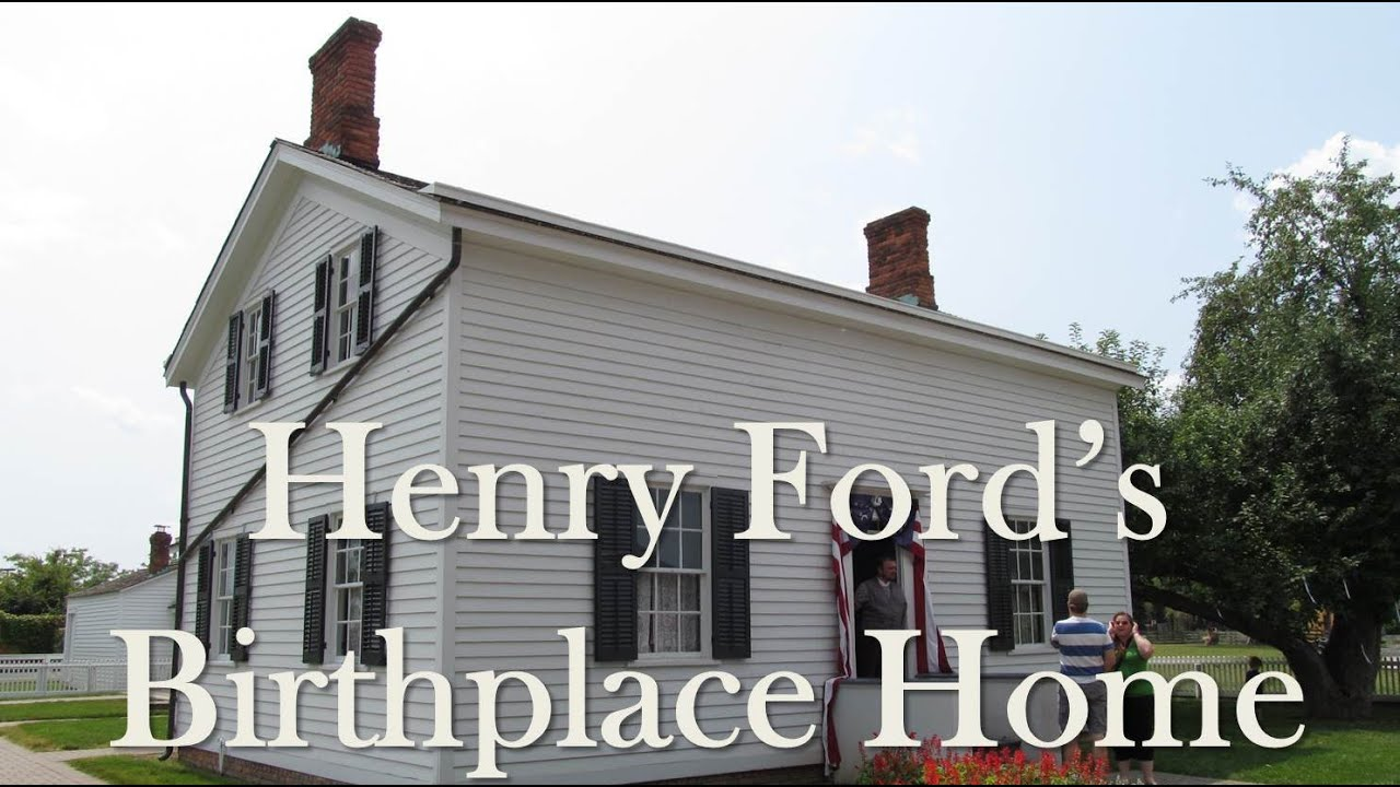 Visiting henry fords birthplace home greenfield village part 7 of 18