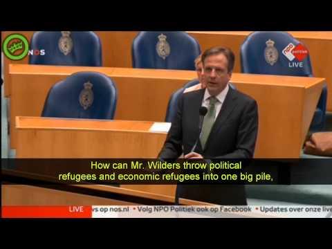 Geert Wilders full immigration debate full 25 minutes