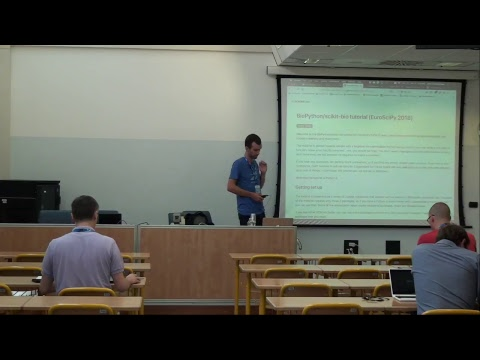 Image from Live stream di EuroSciPy Session 1