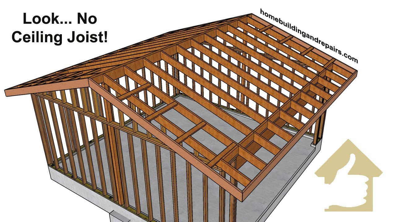 Roof Framing No Ceiling Joist