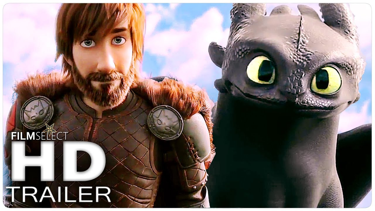 HOW TO TRAIN YOUR DRAGON 3 Trailer (2019) - YouTube