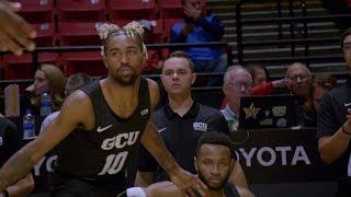 Highlights: GCU Basketball at San Diego State | Nov. 13, 2019
