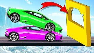 ОПАСНЫЙ НЕПРОХОДИМЫЙ ПАРНЫЙ ПАРКУР НА ВЫСОТЕ 100.000 МЕТРОВ! (GTA 5 Смешные Моменты)