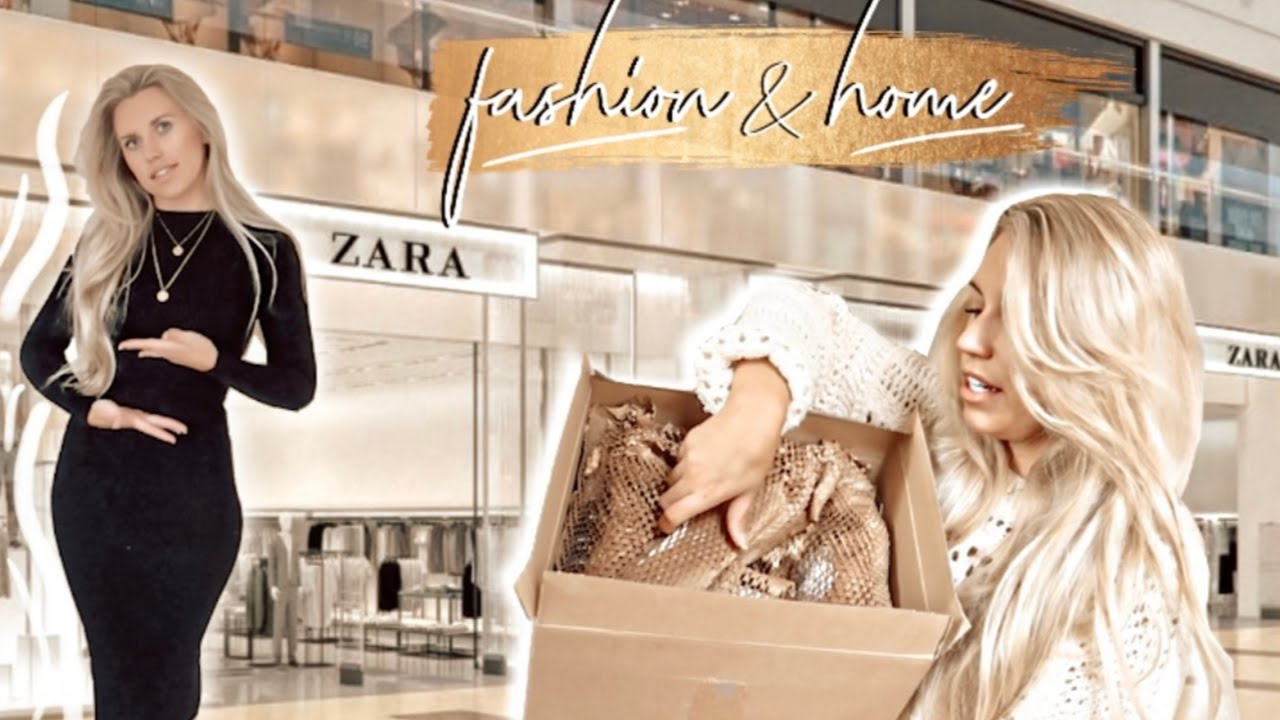 [VIDEO] - HUGE ZARA HAUL TRY ON OCTOBER 2019 | AUTUMN FASHION AND HOME 1