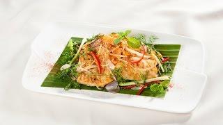 Món Ngon Mỗi Ngày - Cá lăng nướng thì là