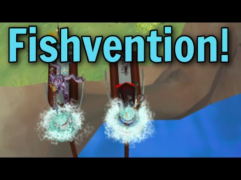 Fishvention: Training Invention Through Skilling [Runescape 2016]