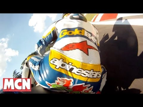 Chaz Davies rides Imola on a BMW HP4 | Features / Specials | Motorcyclenews.com