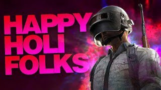 HAPPY HOLI | PUBG MOBILE SEASON 6!!