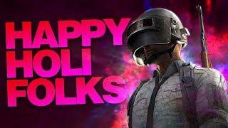 HAPPY HOLI | PUBG MOBILE SEASON 6!!