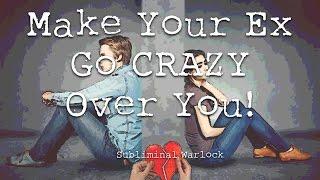 Make Your Ex go CRAZY Over You! Subliminals Frequencies Rife Hypnosis Biokinesis Binaural Potion