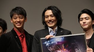 "An advanced screening of ""Drive Saga Kamen Rider Mach/ Kamen Rider ..."