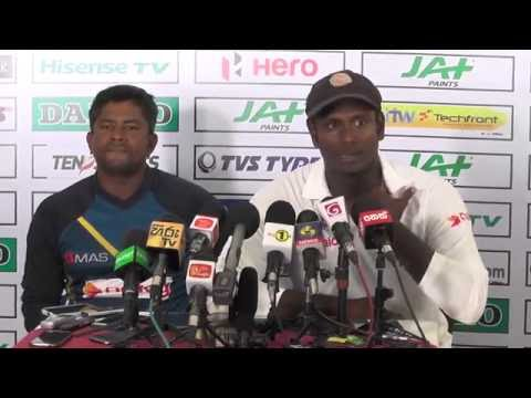 3rd Test Post match press conference - Mathews, Herath & Smith