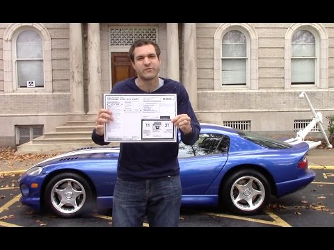 Dodge Viper Gas Mileage Challenge! City MPG vs. Hypermiling!