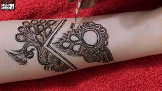 Gambar cover बेहतरीन मेहँदी डिज़ाइन | The Best Henna Mehndi Design by MehndiArtistica | Designer Hand Mehendi