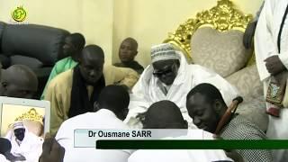 Dr Ousmane SARR présente le bilan de la Caravane médicale au Khalife Général des Mourides