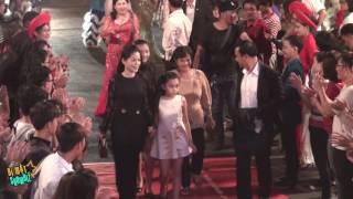 [8VBIZ] - Quyền Linh được khen ngợi khi đưa cả gia đình lên thảm đỏ sự kiện