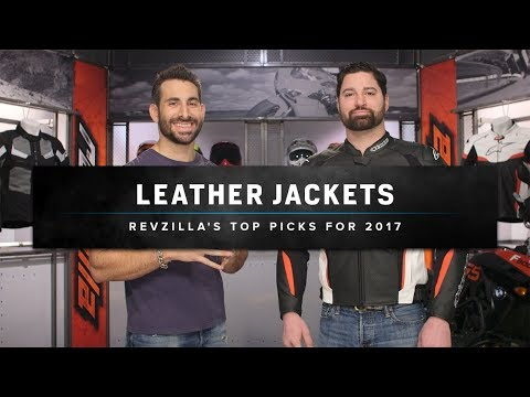 Best Leather Motorcycle Jackets 2017 at RevZilla.com