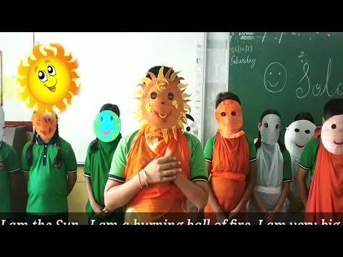 Solar System Song || solar system activity||  Fun With Kvs || Learning is Fun ||Kendriya Vidyalaya||