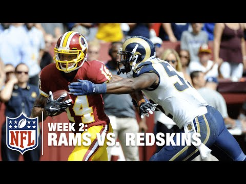 Ryan Grant of Washington Hauls in a 35-Yard Catch | Rams vs. Redskins | NFL