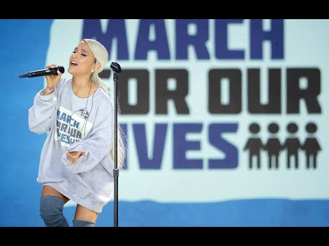 Ariana Grande - Be Alright (Live at March For Our Lives) Full HD [1080P] | ButeraVids