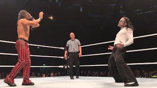 Jeff Hardy impersonates Shinsuke Nakamura in Nottingham, England