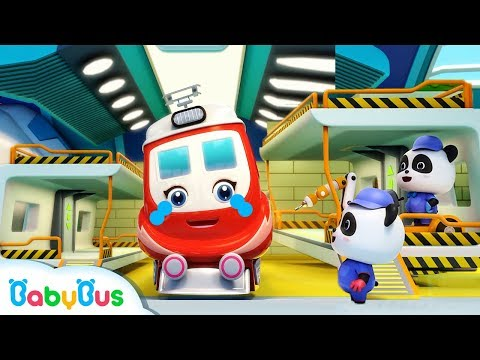 Baby Panda Repairs Super Train | Super Rescue Team | Monster Cars | Baby Cartoon | BabyBus