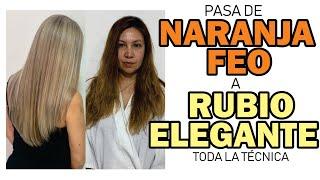 ELIMINA EL NARANJA DE TU PELO Y APLICA RUBIO ELEGANTE./BETTY LAZCANO.