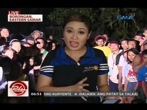 24 Oras: Evacuation center sa Taft, Eastern Samar, nawasak