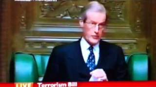 House of commons terrorism, sir Alan haselhurst