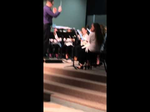 Gracie's Bromley East Charter School Spring Band Concert. March, 2015