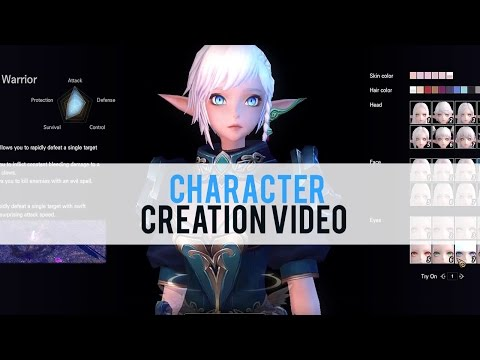 ELOA: Elite Lord of Alliance Character Creation - First Look HD