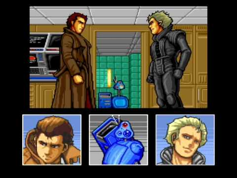 Snatcher - Randam Hajile - PC Engine