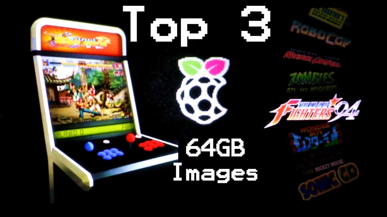 The Best 64GB Pi Retro Gaming Images - TESTED