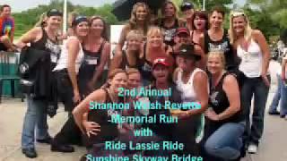 Tampa Bay Florida - Motorcycle Riding Across Sunshine Skyway Bridge