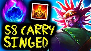 MY S8 AP DAMAGE CARRY SINGED BUILD 2018 - ENEMIES DID NOT EXPECT THAT DAMAGE