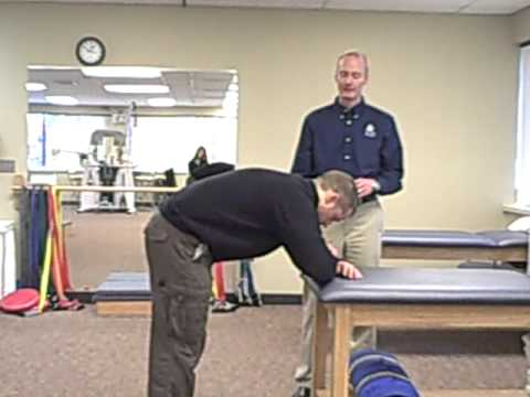 Lumbar Progressive Extensor Chain Stretch