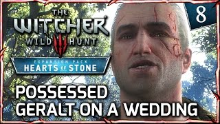 Witcher 3: HEARTS OF STONE ► Possessed Geralt on a Wedding with Shani (Hilarious) #8
