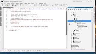 Wie erstellen Sie eine Visual Studio elementvorlagen SideWaffle