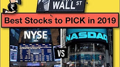 NYSE & NASDAQ - The 10 best stocks to buy for 2019 !!