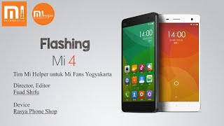 Flashing Mi 4 CU - Mi Helper Yogyakarta