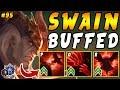 BUFFED Swain TOP with Grasp + Zhonya's + Morello's   Iron IV to Diamond Ep #95