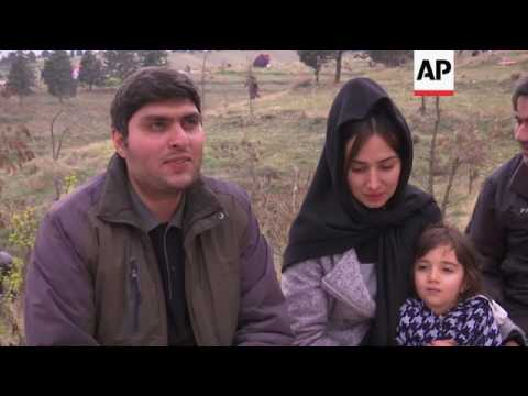 Iranians picnic as part of New Year celebrations