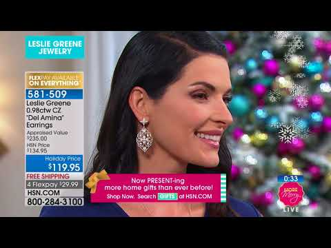 HSN | Leslie Greene Jewelry Premiere 11.28.2017 - 01 PM