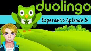 Duolingo Language Learning - Learn Esperanto ⭐💚 with Me: Episode 5