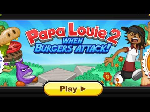 Папа Луи 2: атака гамбургеров!