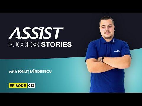 Meet the team - Ep. 13   Interviu cu Ionuț Mîndrescu - Web Developer   ASSIST Software