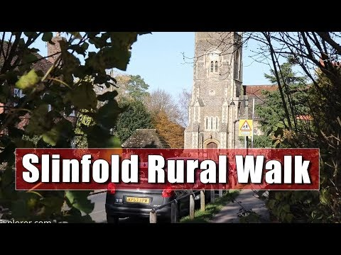 Slinfold Circular Autumn Countryside Walk