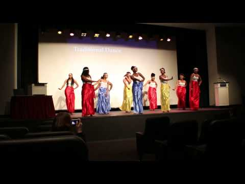 Traditional Dance performed by Rwanda and Burundi students